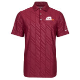 Nike Dri Fit Cardinal Embossed Polo-Primary Mark