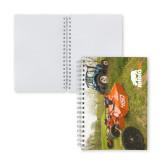 Clear 7 x 10 Spiral Journal Notebook-Rhino 55