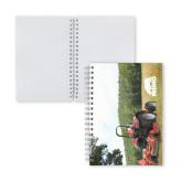 Clear 7 x 10 Spiral Journal Notebook-Rhino TS12