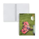 Clear 7 x 10 Spiral Journal Notebook-Waking The Beast - Rhino 4155