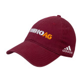 Adidas Cardinal Slouch Unstructured Low Profile Hat-Wordmark