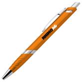 Milo Orange Pen w/Blue Ink-Wordmark