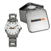 Mens Stainless Steel Fashion Watch-Wordmark