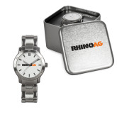 Ladies Stainless Steel Fashion Watch-Wordmark