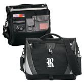 Slope Black/Grey Compu Messenger Bag-R