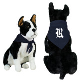 Navy Pet Bandana-R