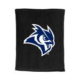 Black Rally Towel-Owl Head