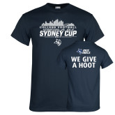 Navy T Shirt-2017 College Football Sydney Cup