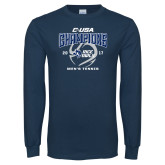 Navy Long Sleeve T Shirt-Conference USA Mens Tennis Champions