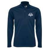 Syntrel Navy Interlock 1/4 Zip-Conference USA Baseball Champions