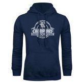 Navy Fleece Hoodie-Womens Basketball Invitational Champions Ball