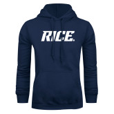Navy Fleece Hood-Rice