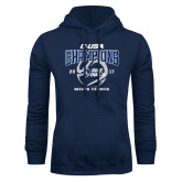 Navy Fleece Hoodie-Conference USA Mens Tennis Champions