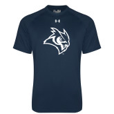 Under Armour Navy Tech Tee-Owl Head