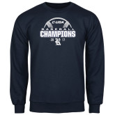 Navy Fleece Crew-Conference USA Baseball Champions