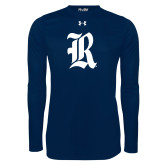 Under Armour Navy Long Sleeve Tech Tee-R