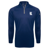 Under Armour Navy Tech 1/4 Zip Performance Shirt-R