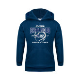 Youth Navy Fleece Hoodie-Conference USA Womens Tennis Champions