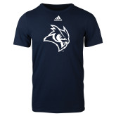 Adidas Navy Logo T Shirt-Owl Head