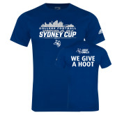 Adidas Navy Logo T Shirt-2017 College Football Sydney Cup