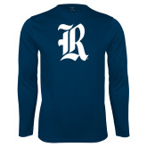Syntrel Performance Navy Longsleeve Shirt-R