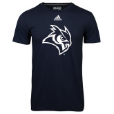 Adidas Climalite Navy Ultimate Performance Tee-Owl Head