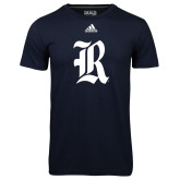 Adidas Climalite Navy Ultimate Performance Tee-R