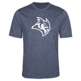 Performance Navy Heather Contender Tee-Owl Head