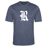 Performance Navy Heather Contender Tee-R