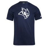 Russell Core Performance Navy Tee-Owl Head