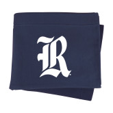 Navy Sweatshirt Blanket-R