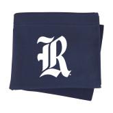 Navy Sweatshirt Blanket-R