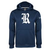 Under Armour Navy Performance Sweats Team Hood-R