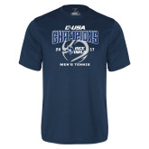 Syntrel Performance Navy Tee-Conference USA Mens Tennis Champions