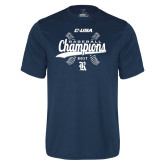 Syntrel Performance Navy Tee-Conference USA Baseball Champions
