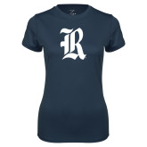 Ladies Syntrel Performance Navy Tee-R