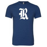Next Level Vintage Navy Tri Blend Crew-R