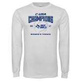 White Long Sleeve T Shirt-Conference USA Womens Tennis Champions