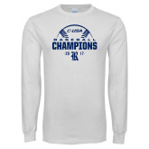 White Long Sleeve T Shirt-Conference USA Baseball Champions