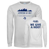 White Long Sleeve T Shirt-2017 College Football Sydney Cup