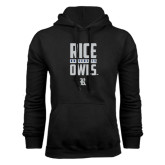 Black Fleece Hood-Rice University Owls