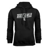 Black Fleece Hood-Rice Owls Athletic Design