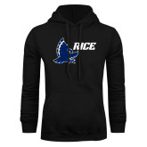 Black Fleece Hoodie-Full Owl Rice