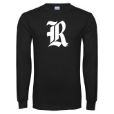 Black Long Sleeve T Shirt-R