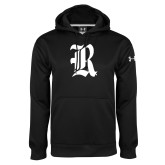 Under Armour Black Performance Sweats Team Hood-R