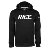 Under Armour Black Performance Sweats Team Hood-Rice