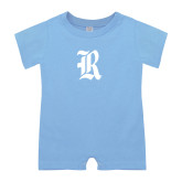 Light Blue Infant Romper-R