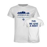 Youth White T Shirt-2017 College Football Sydney Cup
