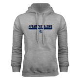 Grey Fleece Hood-#FEARTHETALONS