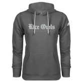 Adidas Climawarm Charcoal Team Issue Hoodie-Rice Owls Wordmark